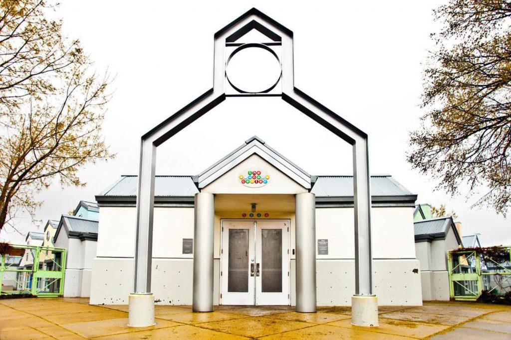 photo of educare building entrance