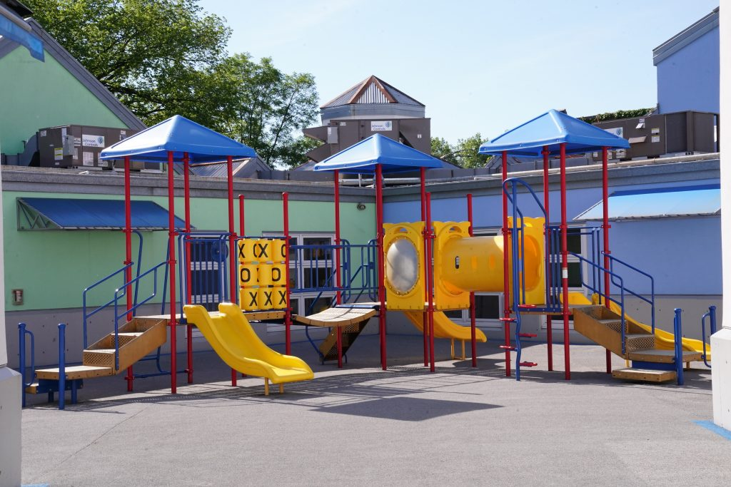photo of educare playground equipment